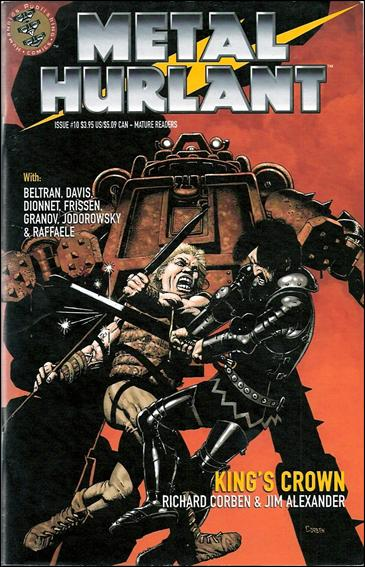 Metal Hurlant 10-A by Humanoids