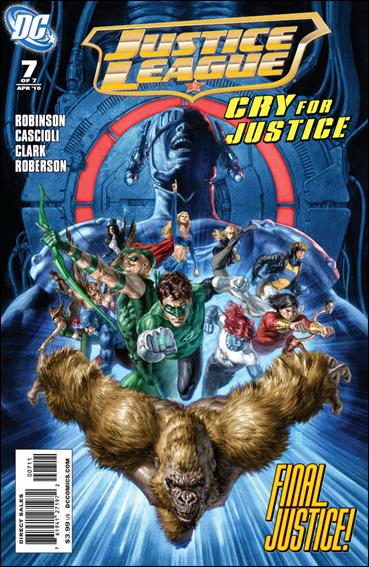 Justice League: Cry for Justice 7-A by DC