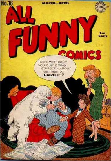 All Funny Comics 16-A by DC