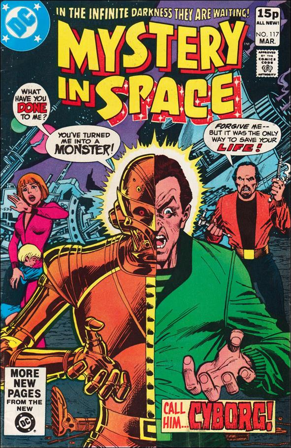 Mystery in Space (1951) 117-B by DC