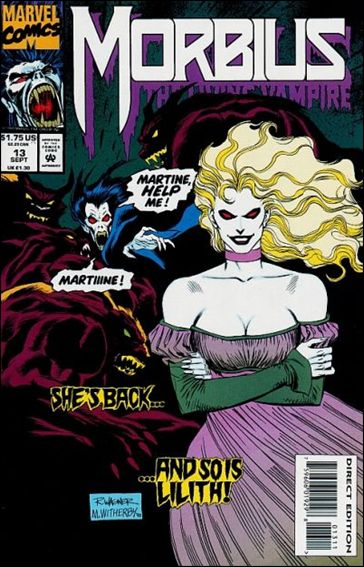 Morbius: The Living Vampire (1992) 13-A by Marvel