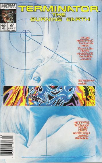 Terminator: The Burning Earth 1-A by Now Comics