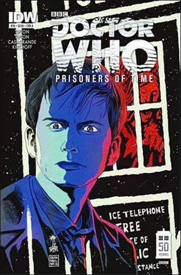Doctor Who: Prisoners Of Time  10-A by IDW