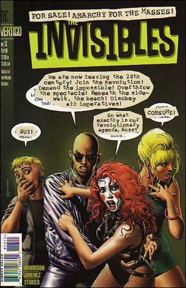 Invisibles (1997) 13-A by Vertigo