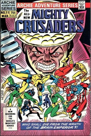 Mighty Crusaders (1983) 11-A by Red Circle