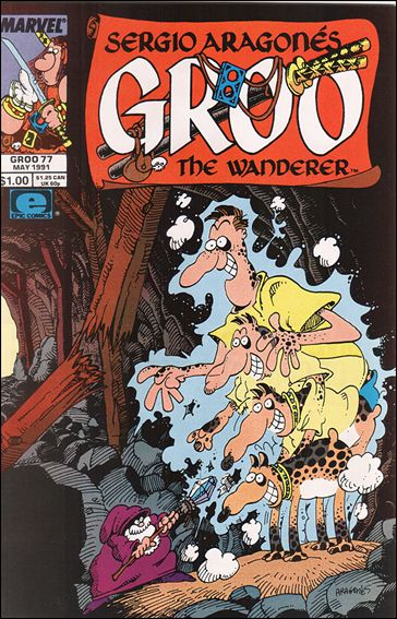 Sergio Aragones Groo the Wanderer 77-A by Epic
