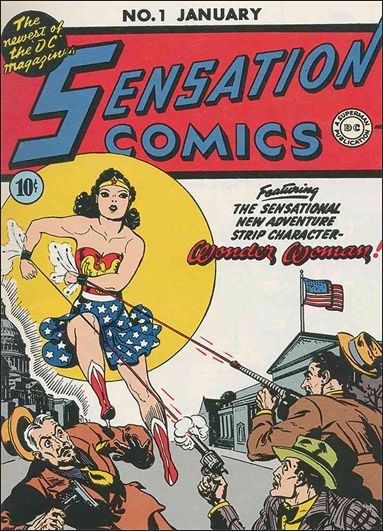 Sensation Comics (1942) 1-A by DC