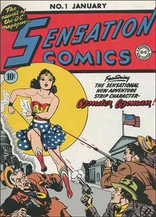 Sensation Comics (1942) 1-A