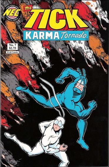 Tick Karma Tornado 7-A by New England Comics Press (NEC / NECP)