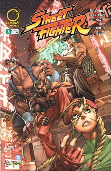 Street Fighter (2003) 8-A by Udon
