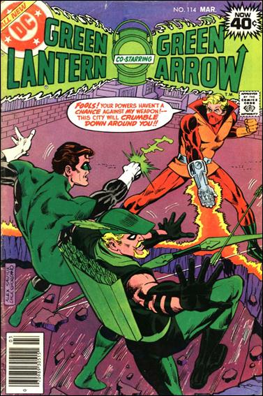 Green Lantern (1960) 114-A by DC