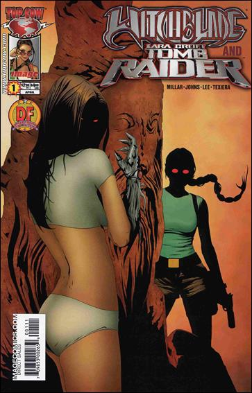 Witchblade and Tomb Raider 1-A by Top Cow