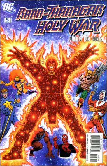 Rann/Thanagar Holy War 5-A by DC