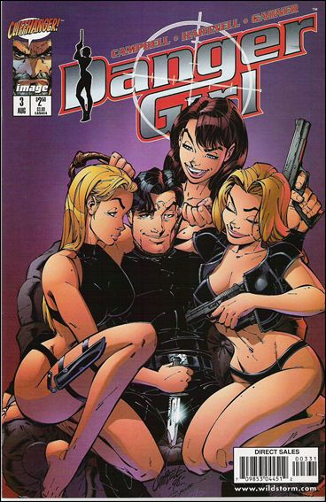 Danger Girl 3-C by Cliffhanger