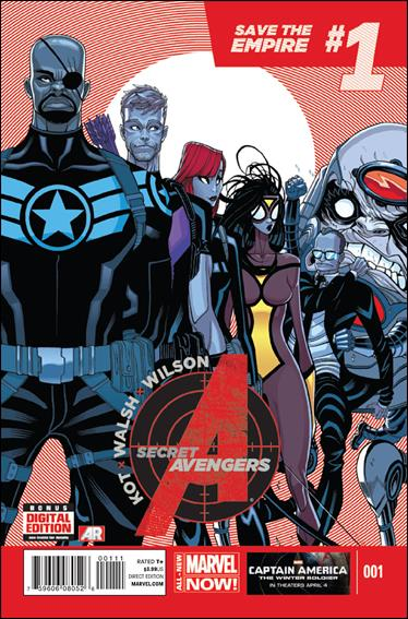 Secret Avengers (2014) 1-A by Marvel