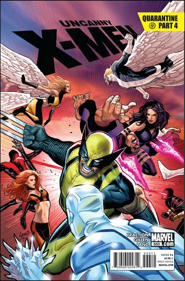 Uncanny X-Men (1981) 533-A by Marvel