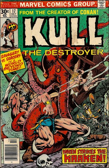 Kull the Destroyer 17-A by Marvel