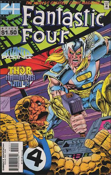 Fantastic Four (1961) 402-A by Marvel