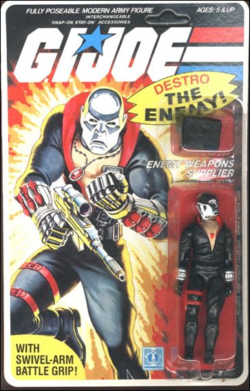"G.I. Joe: A Real American Hero 3 3/4"" Basic Action Figures Destro (Enemy Weapons Supplier) by Hasbro"