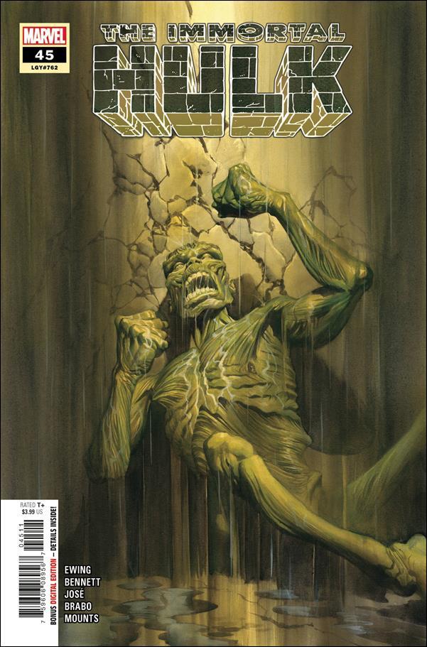 Immortal Hulk 45-A by Marvel