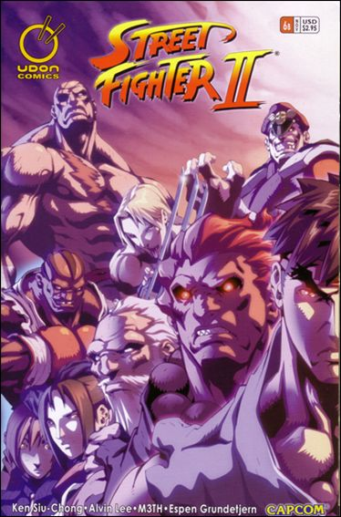 Street Fighter II (2005) 6-B by Udon