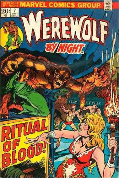 Werewolf by Night (1972) 7-A by Marvel