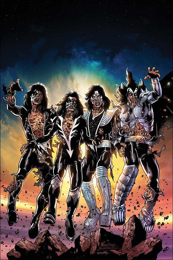 Kiss Zombies 1-I by Dynamite Entertainment