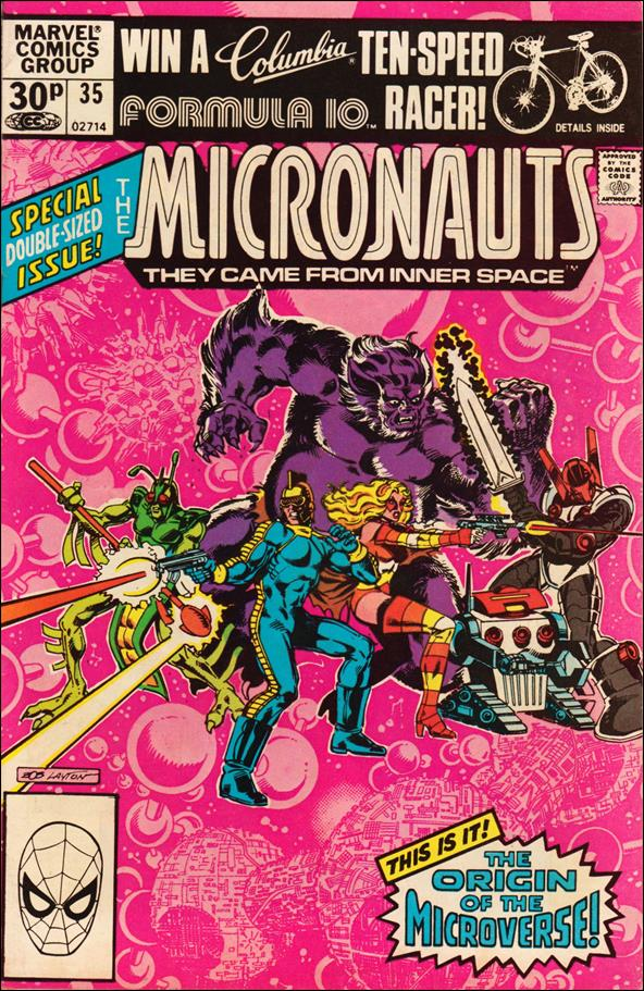 Micronauts (1979) 35-B by Marvel