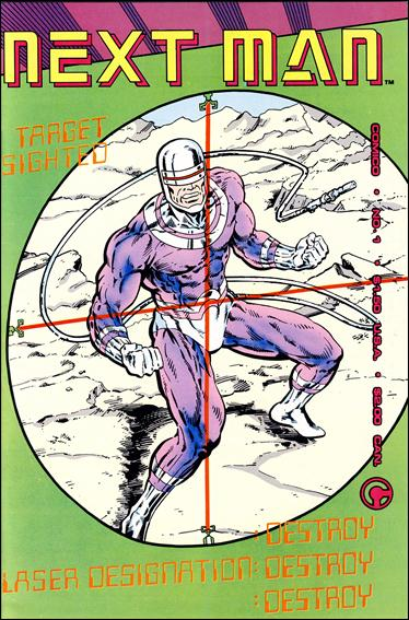 Next Man 1-A by Comico