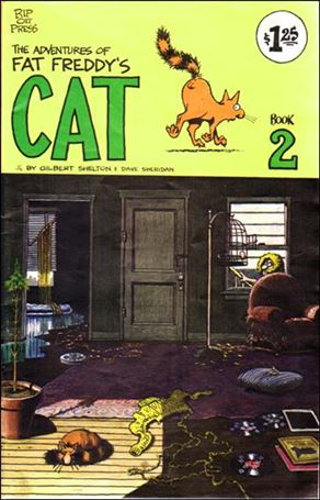 Adventures of Fat Freddy's Cat 2-G