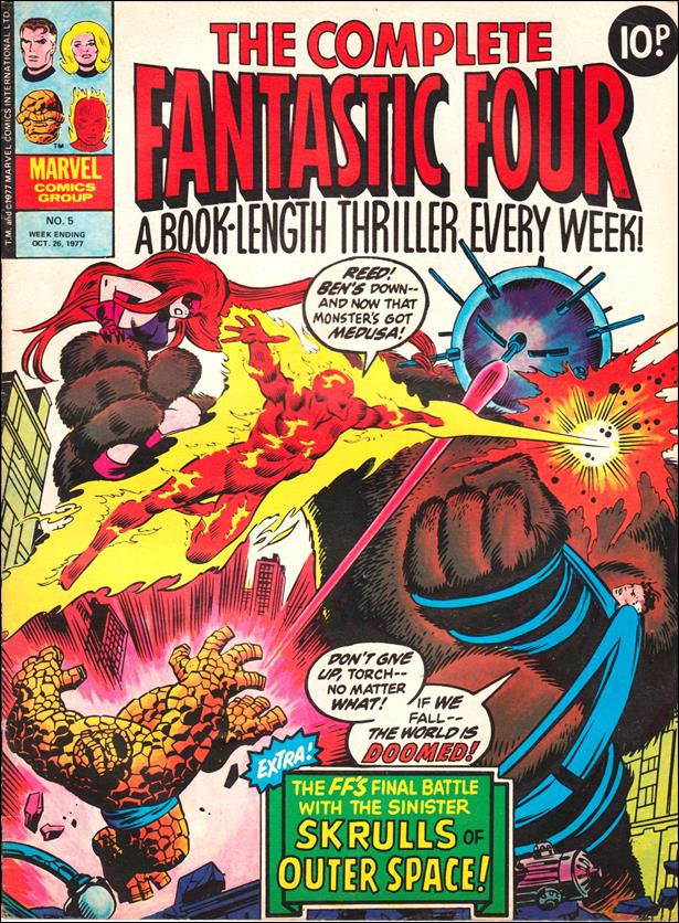 Complete Fantastic Four (UK) 5-A by Marvel UK