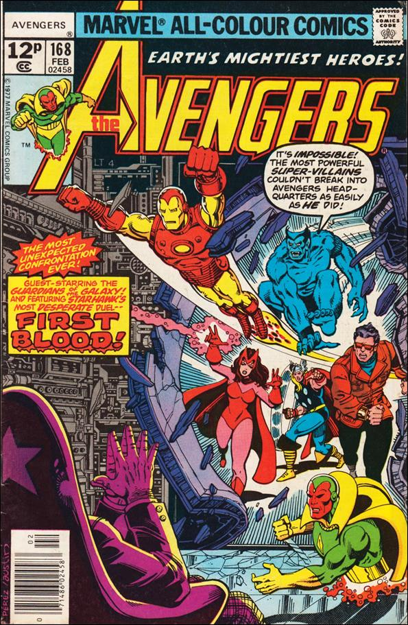 Avengers (1963) 168-B by Marvel