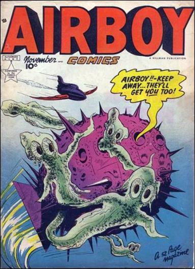 Airboy Comics (1949) 10-A by Hillman