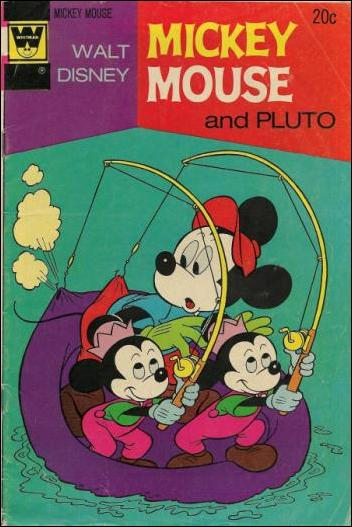 Walt Disney's Mickey Mouse 144-B by Dell