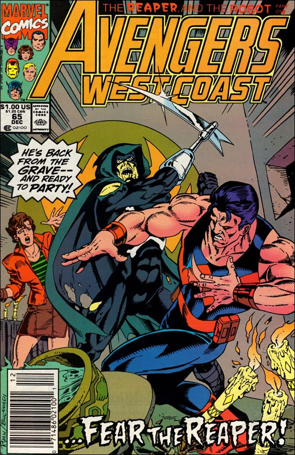 Avengers West Coast 65-A by Marvel