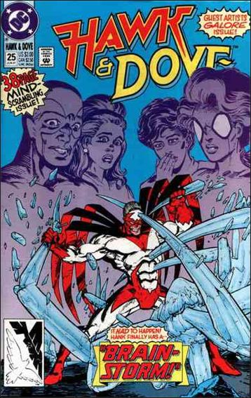 Hawk and Dove (1989) 25-A by DC
