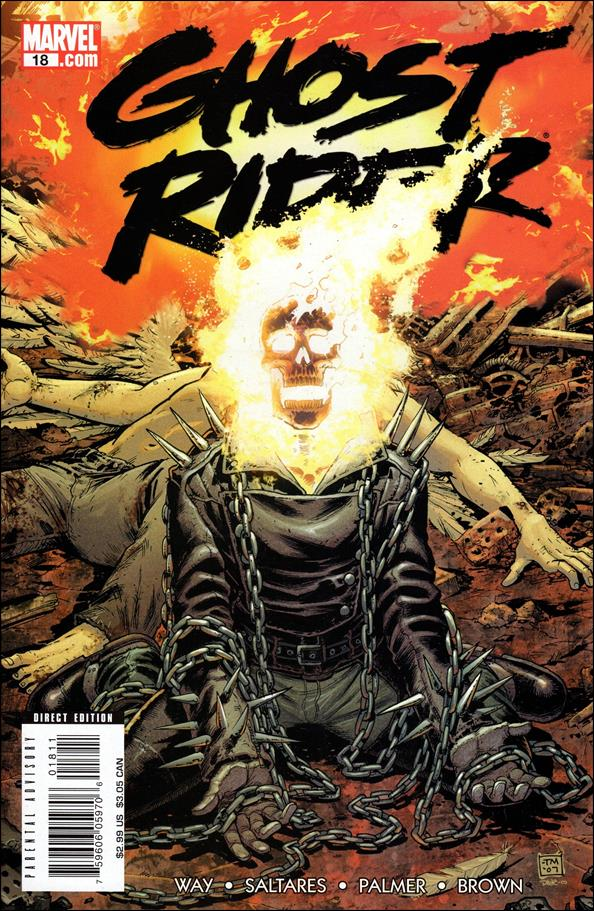 Ghost Rider (2006) 18-A by Marvel