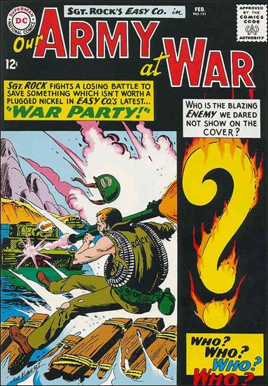 Our Army at War (1952) 151-A by DC