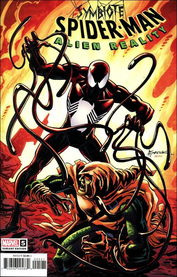 Symbiote Spider-Man: Alien Reality 5-C by Marvel