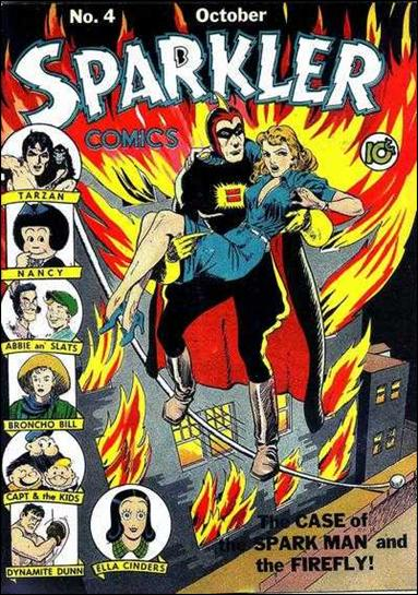 Sparkler Comics (1941) 4-A by United Features Syndicate