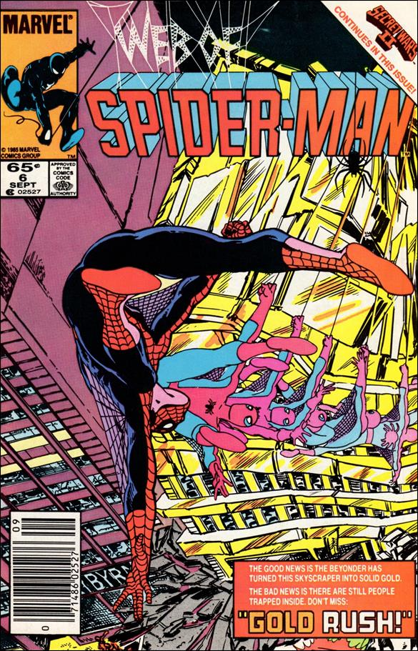 Web of Spider-Man (1985) 6-A by Marvel