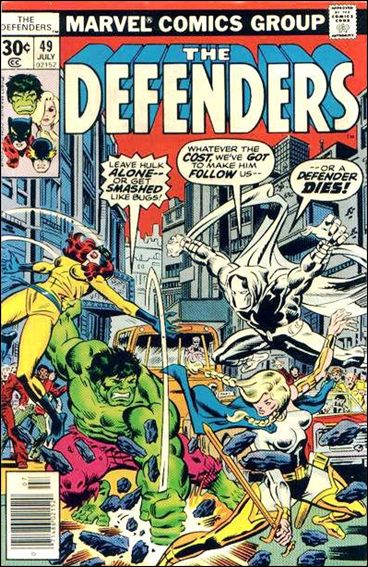 Defenders (1972) 49-A by Marvel