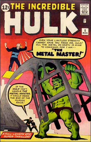 Incredible Hulk (1962) 6-A by Marvel