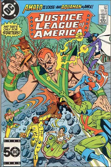 Justice League of America (1960) 241-A by DC
