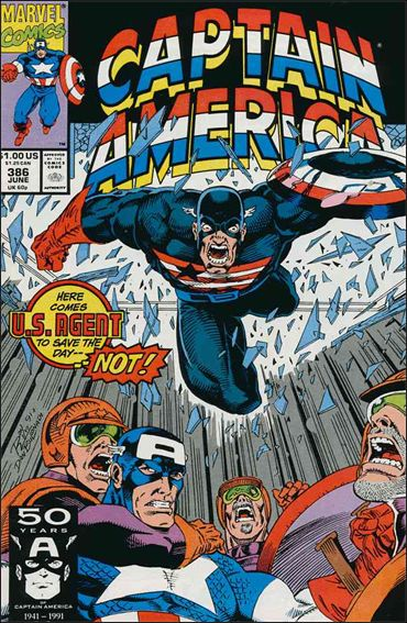Captain America (1968) 386-A by Marvel