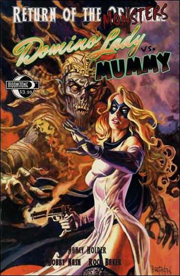 Return of the Monsters: Domino Lady vs Mummy 1-A by Moonstone