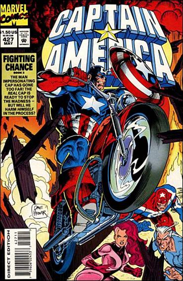 Captain America (1968) 427-A by Marvel