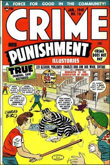Crime and Punishment 10-A by Lev Gleason Productions