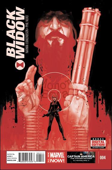 Black Widow (2014) 4-A by Marvel