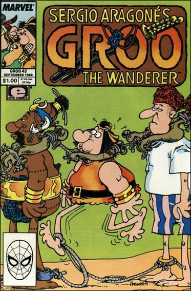 Sergio Aragones Groo the Wanderer 43-A by Epic